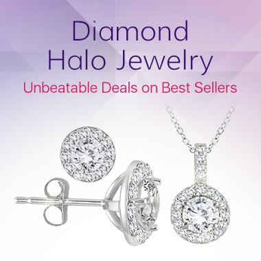 Diamond Halo Jewelry