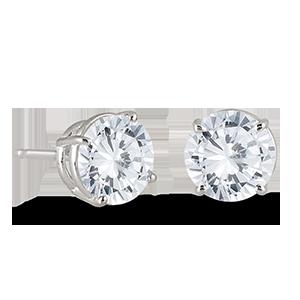 Diamond Earrings Diamond Hoops Gemstone Earrings Szul